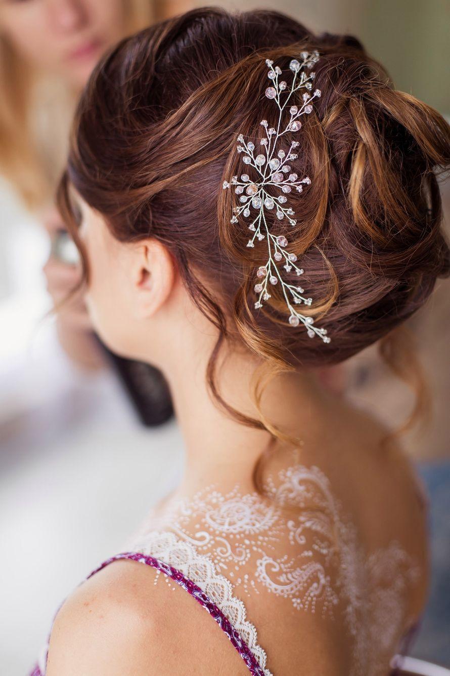 Свадебные прически, 280 фото красивых свадебных причесок 72
