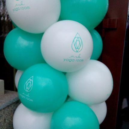 Логотипы и надписи на шариках