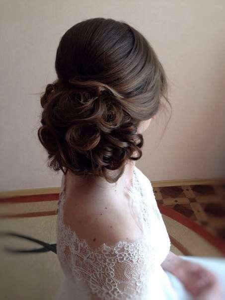 Фото 5679861 в коллекции Свадебные прически - Парикмахер-стилист Валерия Февралёва