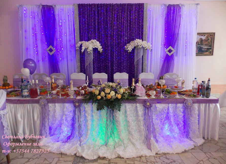 Фото 5725423 в коллекции Оформление в фиолетовом цвете - Декор-студия Светланы Бубневич