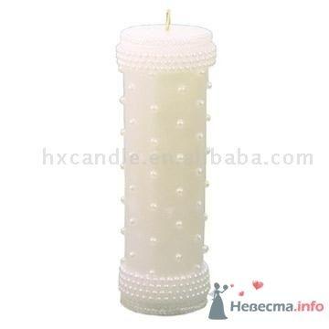 Фото 4609 в коллекции Свадебные свечи - leshechka