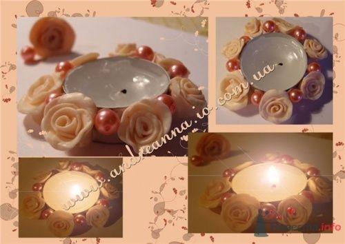 Фото 4611 в коллекции Свадебные свечи - leshechka