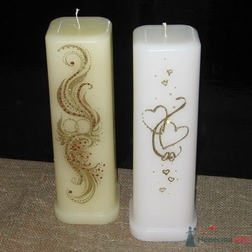 Фото 4622 в коллекции Свадебные свечи
