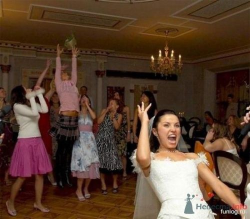 Фото 5538 в коллекции Свадебные курьезы