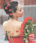 Фото 8316 в коллекции Прически с живыми цветами - leshechka