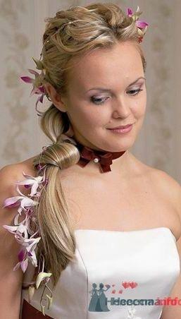 Фото 8319 в коллекции Прически с живыми цветами - leshechka