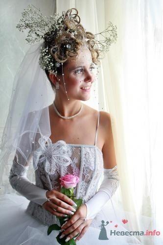 Фото 8327 в коллекции Прически с живыми цветами - leshechka