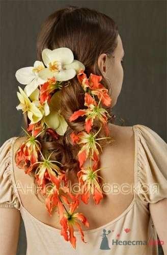 Фото 8332 в коллекции Прически с живыми цветами - leshechka