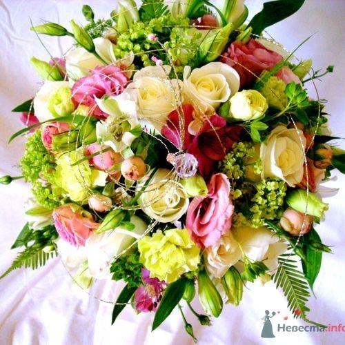 Круглый букет - фото 726 Флорист-дизайнер Екатерина