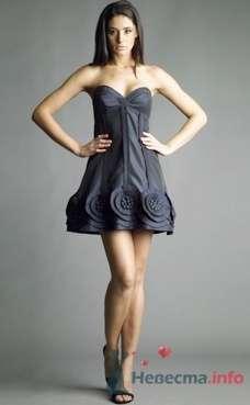 Коктейльное платье Ugo Zaldi от ПЛЮМАЖ - фото 1208 Плюмаж - бутик выходного платья и костюма