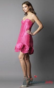 Коктейльное платье Ugo Zaldi от ПЛЮМАЖ - фото 1209 Плюмаж - бутик выходного платья и костюма
