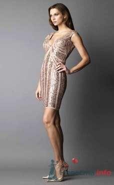Коктейльное платье Ugo Zaldi от ПЛЮМАЖ - фото 1212 Плюмаж - бутик выходного платья и костюма