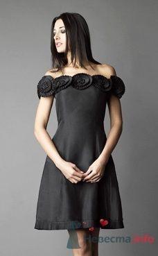 Коктейльное платье Ugo Zaldi от ПЛЮМАЖ - фото 1220 Плюмаж - бутик выходного платья и костюма