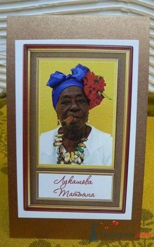 Фото 2573 в коллекции Банкетные карточки - Cвадебная полиграфия