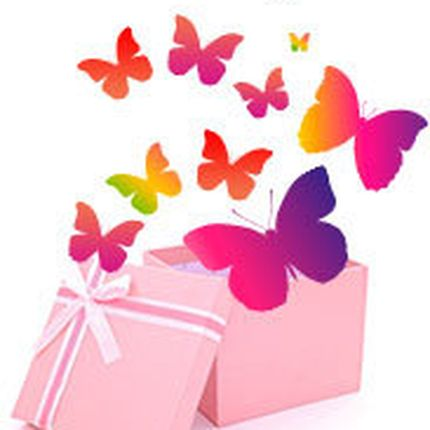 Салют из 11 живых бабочек