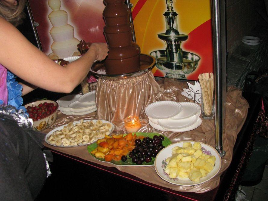 шоколадный фонтан - очень экзотическая штука!))) - фото 5906908 Ведущая Олеся Колокольцева