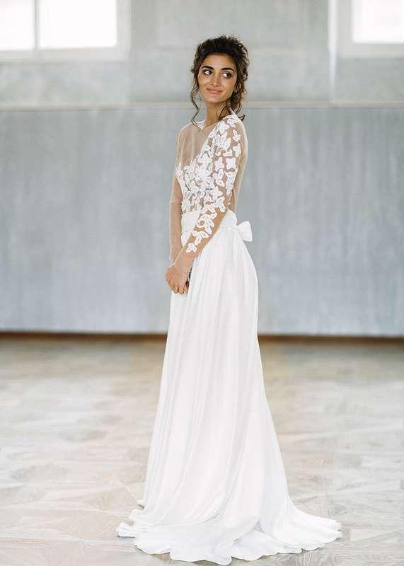 Свадебное платье Классика - фото 16541270 Будуарный салон Boudoir-Wedding