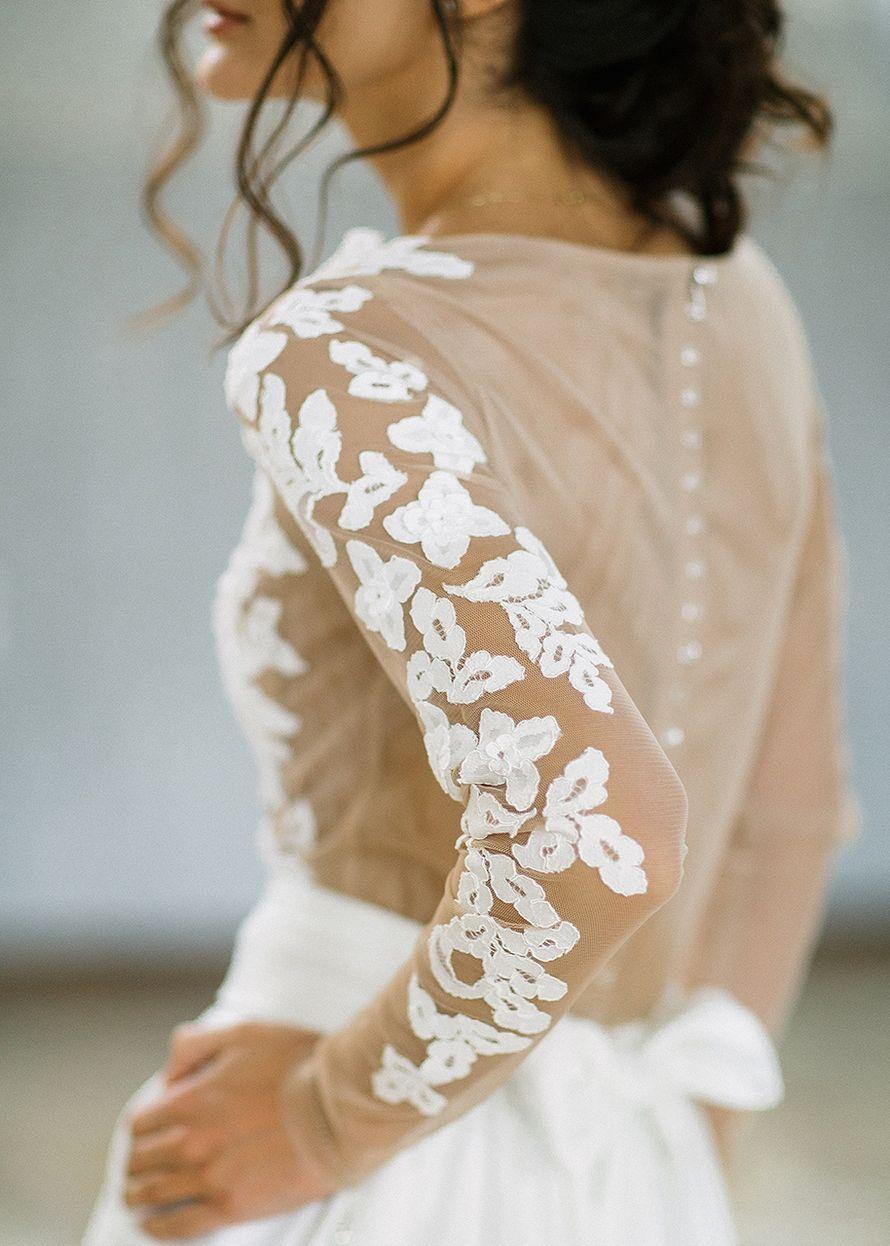 Свадебное платье Классика - фото 16541272 Будуарный салон Boudoir-Wedding