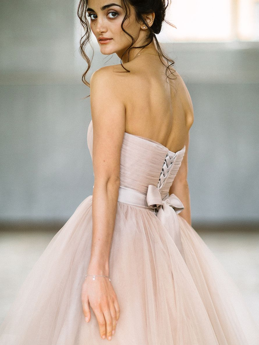 Свадебное платье Мелодия - фото 16541444 Будуарный салон Boudoir-Wedding