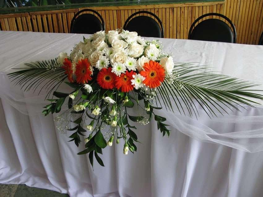 Цветочные композиции из живых цветов на свадьбу своими руками