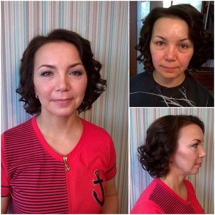 Лифтинг - макияж для гостей