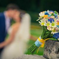 Букет невесты из полимерной глины. Цветы из полимерной глины