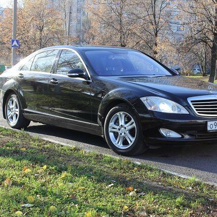 Аренда Mercedes S class W221