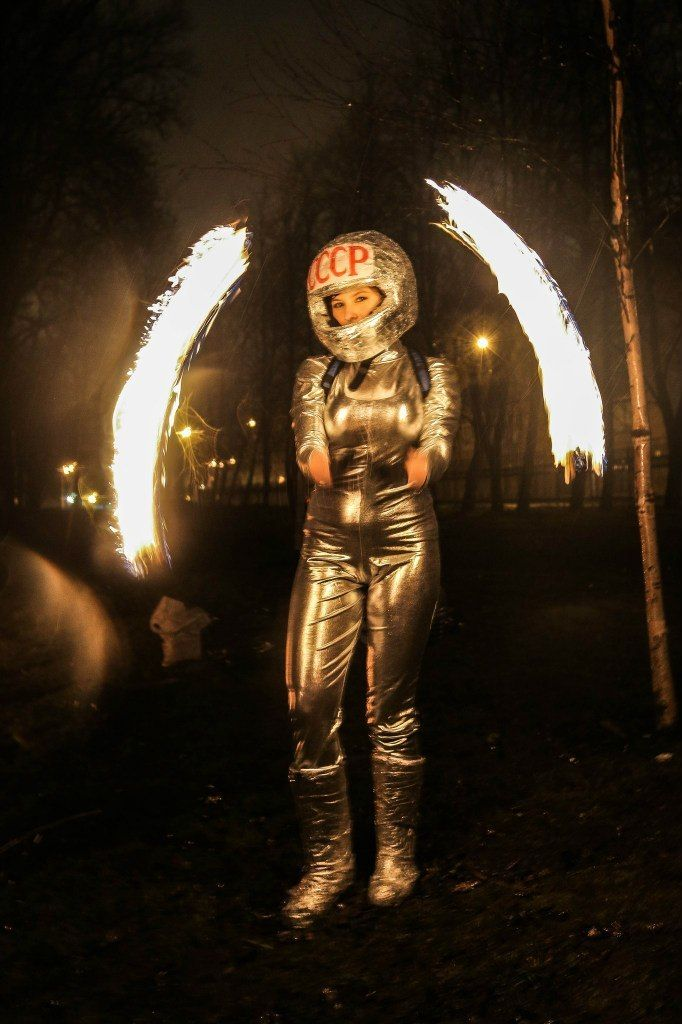 Фото 6060207 в коллекции Огненное (фаер) шоу - Творческий коллектив Огни большого города