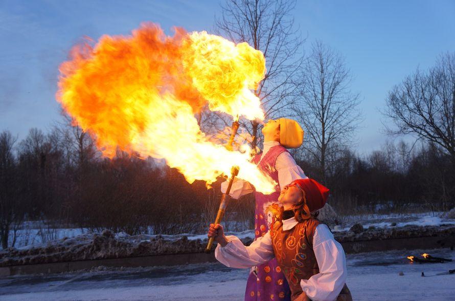 Фото 6060243 в коллекции Огненное (фаер) шоу - Творческий коллектив Огни большого города