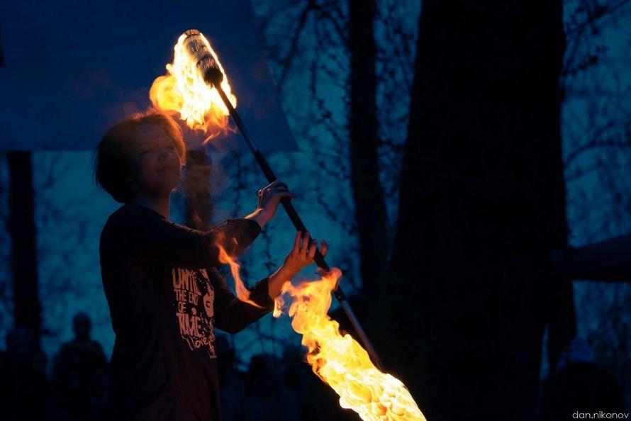 Фото 6060283 в коллекции Огненное (фаер) шоу - Творческий коллектив Огни большого города