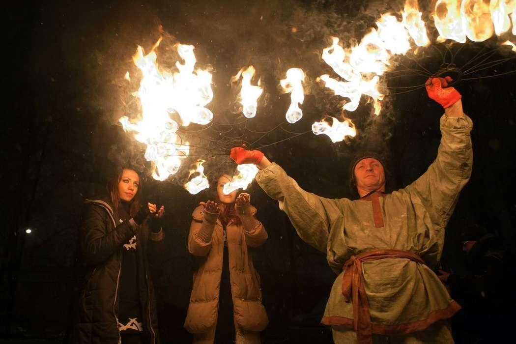 Фото 6060369 в коллекции Огненное (фаер) шоу - Творческий коллектив Огни большого города