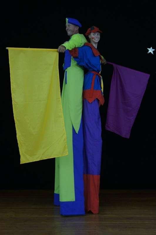 Фото 6060373 в коллекции Флаговое шоу - Творческий коллектив Огни большого города