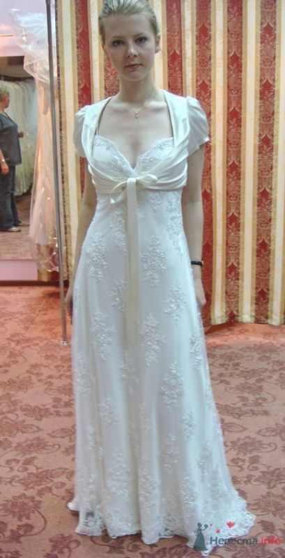 Платье №5, молоко, с болеро - фото 26574 malysh_eva