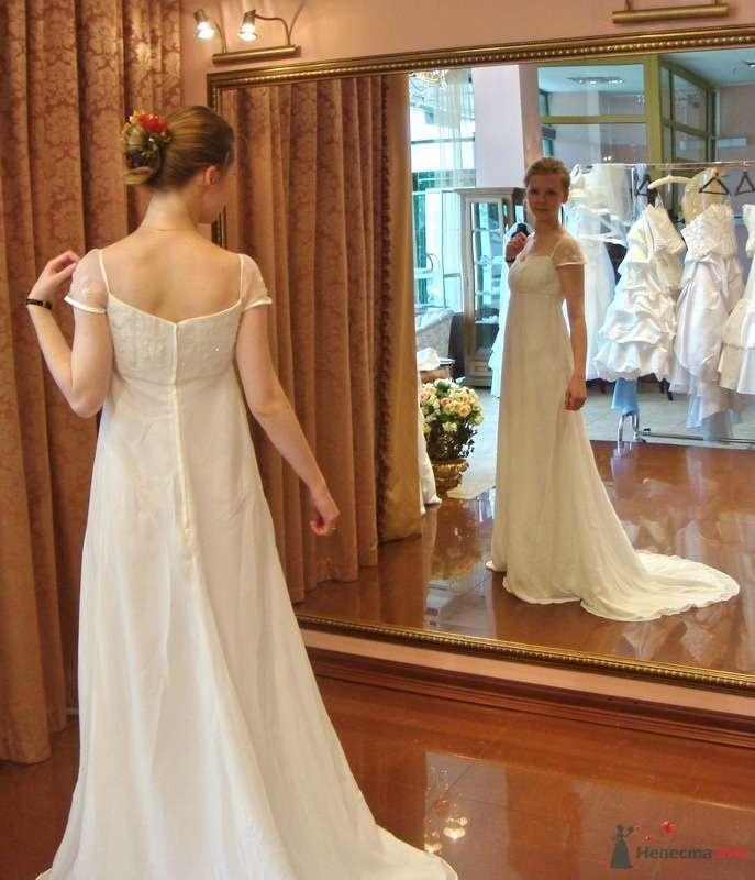 Платье №7, сзади - фото 27599 malysh_eva