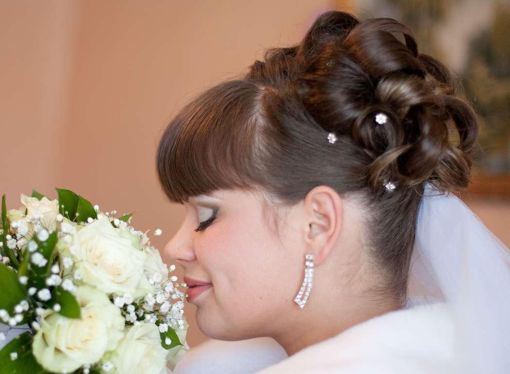 Фото 6221565 в коллекции Невесты - Парикмахер-визажист Белякова Наталья