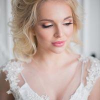 Классический свадебный макияж со стрелкой