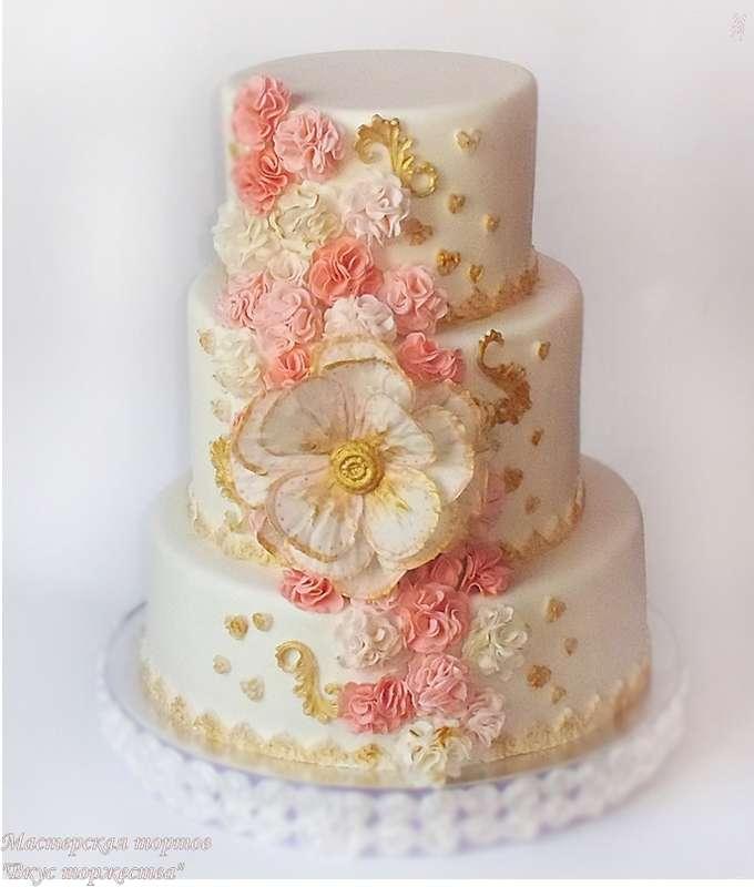 """Фото 6283799 в коллекции Свадебные торты - Мастерская тортов """"Вкус торжества"""""""
