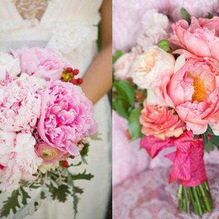 Букет невесты из пинов