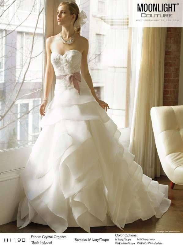 сложная многослойная юбка - фото 6377233 Свадебный салон White Rooms