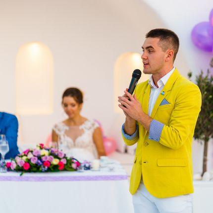 Ведущий на маленькую свадьбу