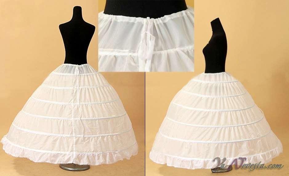 Как сделать платья пышной