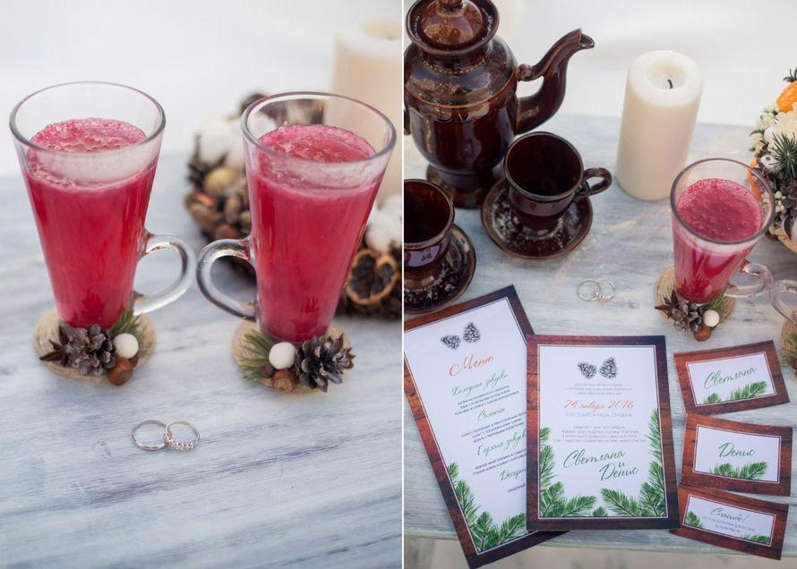Набор свадебной полиграфии - Зима Шишки Ветви ели - фото 9423854 Maltina Maria - свадебная и праздничная полиграфия