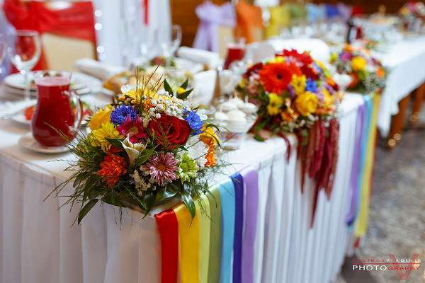 Фото 6598830 в коллекции Радужная свадьба - Дизайнер-флорист, шоколатье Светлана Байбородова