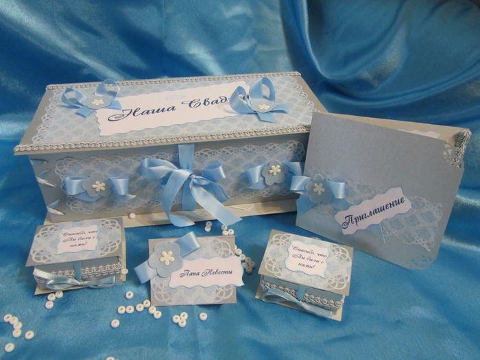 Фото 6598884 в коллекции Голубая свадьба. - Дизайнер-флорист, шоколатье Светлана Байбородова