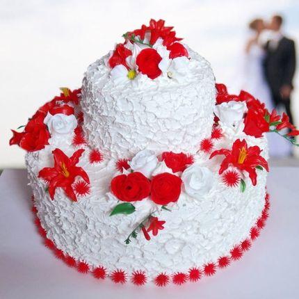 Бутафорский торт с фоамирана