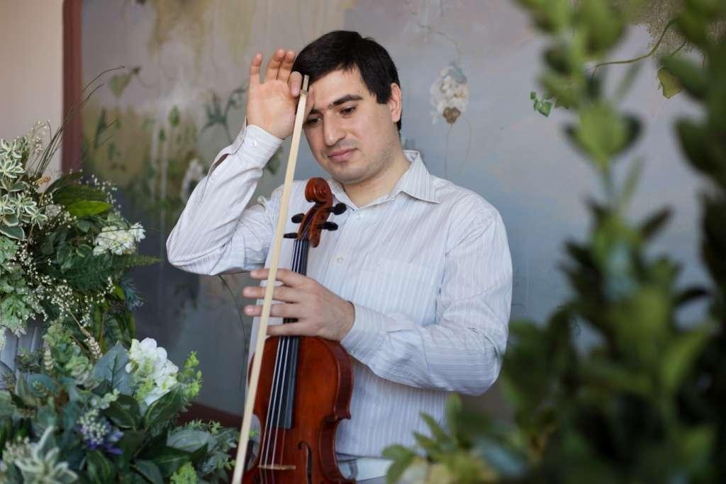 Скрипач на свадьбу Краснодар - фото 17267970 Скрипач Иван Овсепян
