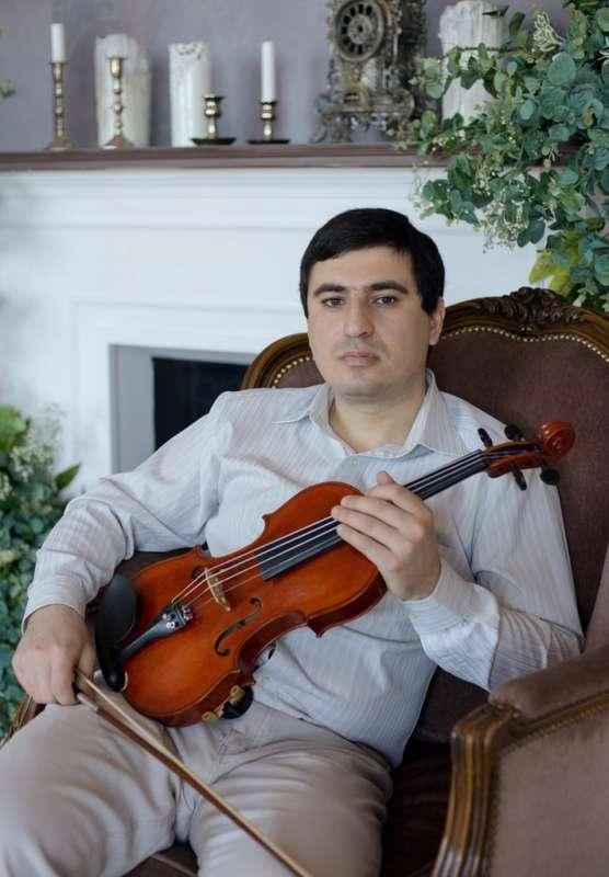 Скрипач на свадьбу Краснодар - фото 17267978 Скрипач Иван Овсепян