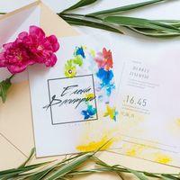 приглашения на самую яркую тропическую свадьбу