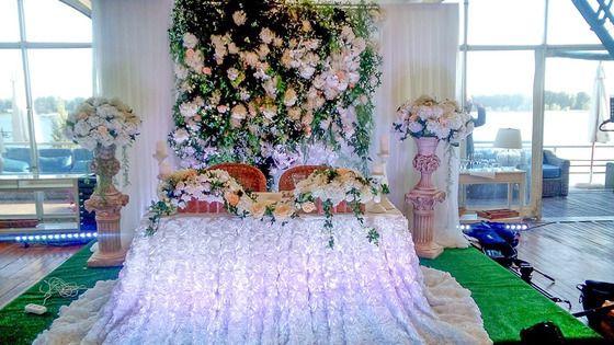 Оформление свадеб в европейском стиле