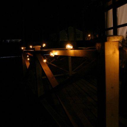 Ретро-гирлянда из лампочек